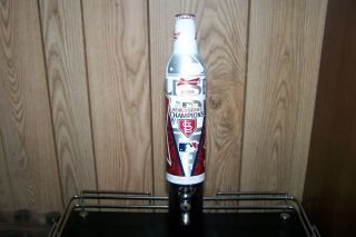 St Louis Cardinals 11 Time World Champion Aluminum Beer Tap Handle