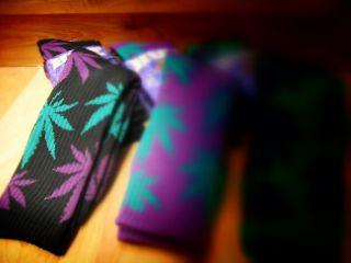 Plantlife Socks Black Green Purple Kristina Rose 420 Pack Plant Life
