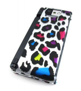 Wild Bizarre Leopard Hard Case Cover Kyocera Echo Phone