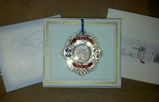 The White House Christmas Ornament 2006