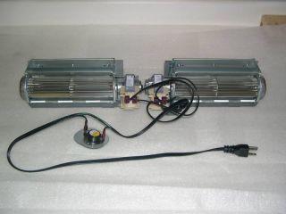 Fireplace Blower Fan Kit Kozy Heat TRF 028 2 75 CFM