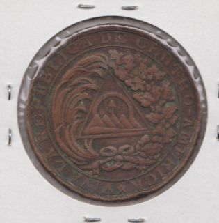 Honduras Guatemala Costa Rica El Salvador Medal Pacto de La Union 1889