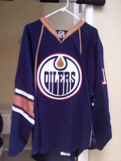 2009 2010 Patrick OSullivan NHL Edmonton Oilers Game Worn Used Jersey
