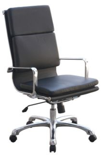 LA Z BOY Raynor Leather Executive Office Desk computer High Back Chair