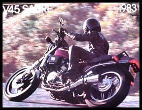 1983 Honda Motorcycle Sabre V45 Brochure VF750