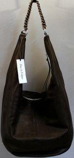 Pour La Victoire Leather Hobo Bag Black