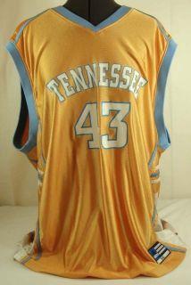 Lady Vols Tennessee Volunteers 43 Orange Basketball Jersey Adidas Mens