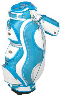New Bennington Ladies Couture Golf Cart Bag Blue