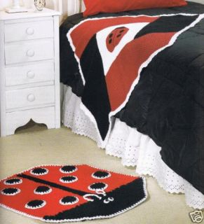 65 Crochet Patterns Book Ladybug Baby Afghan Rug