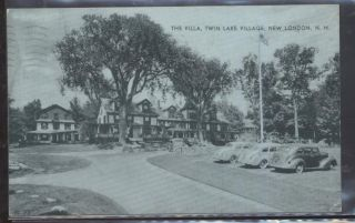New Hampshire NH Twin Lake Village Houses Homes View 1930S