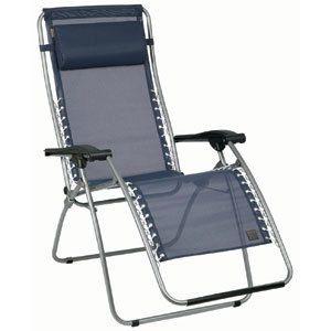 Lafuma RSX Zero Gravity Chair Ocean Blue Mesh