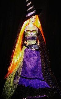 Magic Spells Witch OOAK Barbie Doll Halloween Beauty