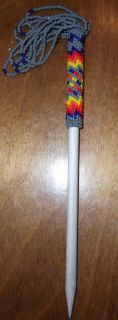 Beatuiful LAKOTA Sioux Beaded Hair Stick