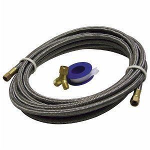 Lambro 15 Stainless Steel Braided Water Supply Installation Kit for