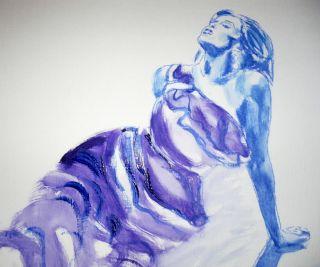 Beautiful Original Figure Painting by Scottish Artist Fiona McLachlan