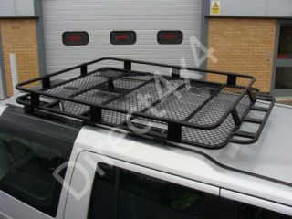 Land Rover Discovery 3 4 Rugged Roof Rack Basket Bars