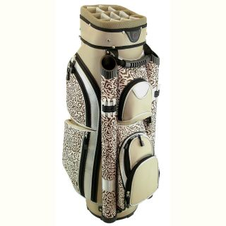 Hunter Nusport Eclipse Ladies Cart Golf Bag Khaki Safari