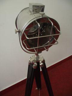 Studio Floor Lamp Light Designer Spot Marine Light Tripod Lamp