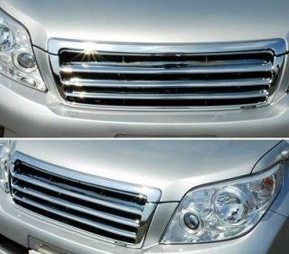2009 2010 2011 2012 Toyota Land Cruiser Prado Chrome Front Grille 150