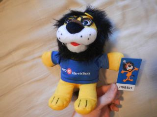 BMO Harris Bank Hubert The Lion Plush Stuffed Animal