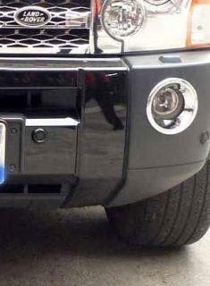 Land Rover Discovery 3 LR3 Chrome Front Fog Light Cover Trim