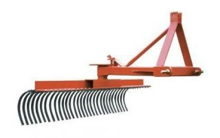 Landscape Rake 3 Point Hitch Mounted 60 Wide
