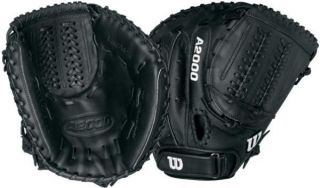 Wilson A2000 Fastpitch Softball Catchers Mitt A2403F ZCM B 34 RH $219