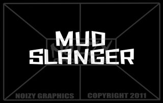 Cool Vinyl Car 4x4 Lifted Truck Bogger Window Sticker Decal Mud