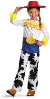 Child Girls Walt Disney Pixar Toy Story Jessie Licensed Costume