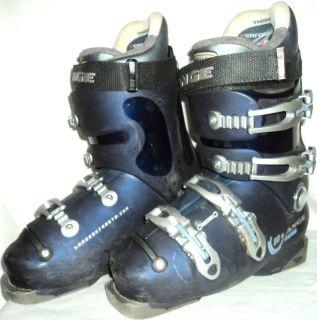 Lange CRL 80 Womens Junior Ski Boots Size US 7 MP 24 Color Blue