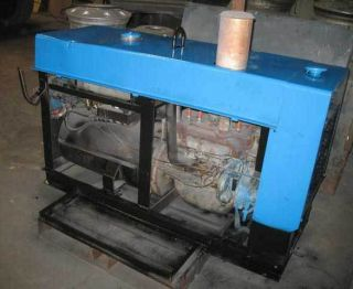 Miller Welder Big 40 Arc Welder Gas Powered 250V