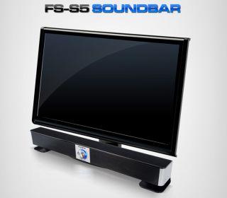 Fohenz Soundbar Computer PC Desktop Laptop speakers Bar Shape USB