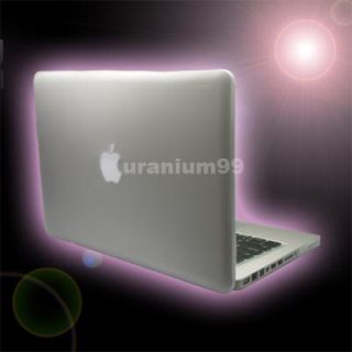 MacBook Pro Matte Hard Case Plastic Shell Laptop Notebook Clear