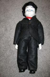 Doll Wonderful Charlie Chaplin Porcelain Doll A12