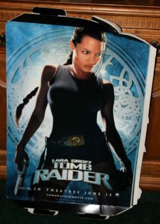 Lara Croft Tomb Raider Movie Promo Standee Stand Up
