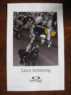 LANCE ARMSTRONG USPS Discovery Rider Oakley Bike Tour De France Ride