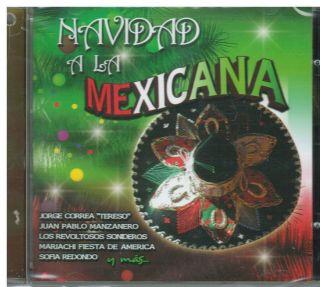 Navidad A La Mexicana CD New Feliz Navidad Album Con 11 Canciones