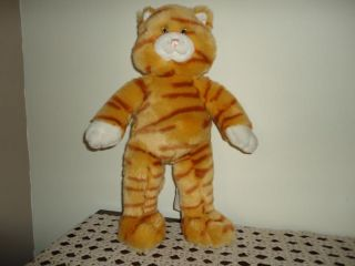 Build A Bear Canada Large Striped Orange Tabby Cat 17in