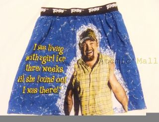 Mens Boxer Shorts Underwear Larry The Cable Guy Living with A Girl