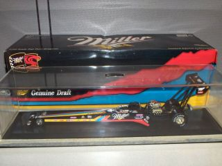 Larry Dixon Jr Miller Genuine Draft 1 24 Top Fuel Dragster Action RARE