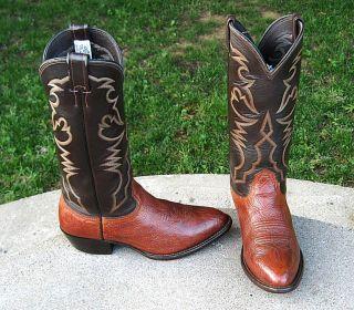 Larry Mahan Cowboy Boos Mens 8E