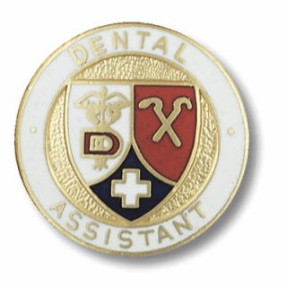 Dental Assistant Oral Health Instruments Lapel Pin New