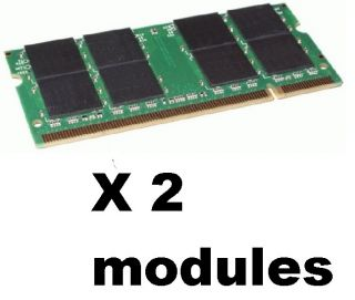 2GB 1GB X2 LAPTOP Memory ram DDR2 hp acer DELL e1405 6400 e1705 1501