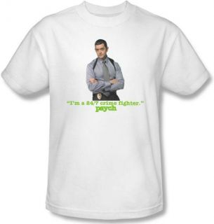 Kids Youth Sizes Psych Carlton Lassiter TV T Shirt Top Tee