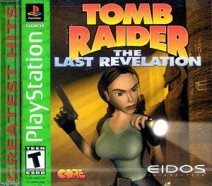 PS1 Game Laura Croft in Tomb Raider The Last Revelation PlayStation