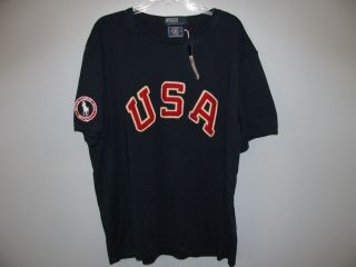 NWT Ralph Lauren Polo 2012 London Olympics Team USA T Shirt Large $55