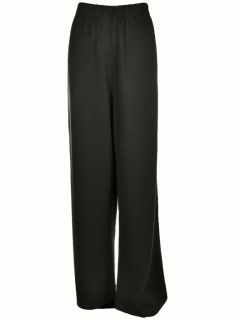 San Remo by Laura Knits Womens Stretch Straight Leg Pants 3X Brown