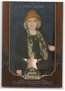 2009 Americana Proof Memorabilia Piper Laurie 100