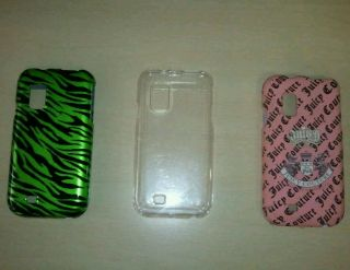 Lo of 3 Samsung Galaxy S Fascinae phone case cover juicy couure