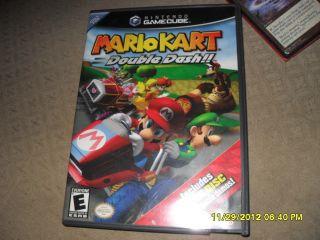 Nintendo GameCube NGC GC Mario Kart Double Dash Complete